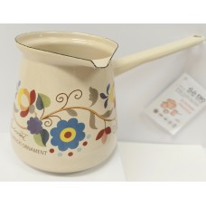 Enamel coffe pot ornament