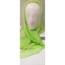 Light Green silk scarf