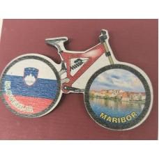 Magnet wooden-bike