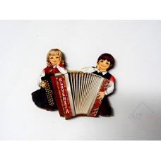Magnet wooden
