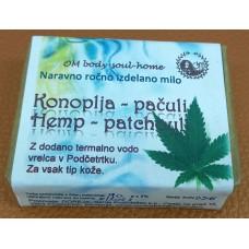 Natural handmade soap Hemp-patchouli