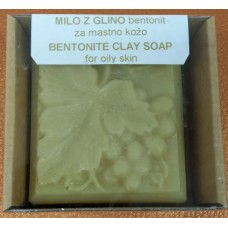 Natural handmade soap Clay bentonite
