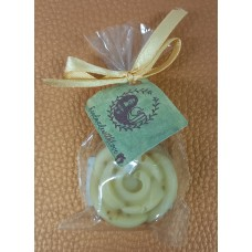 Natural soap in various shapes Honey - beeswax
