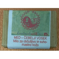 Natural handmade soap Honey - beeswax