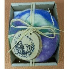 Felt soap Lavender
