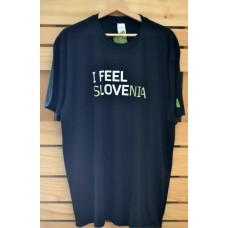 Man T-shirt I feel Slovenia black