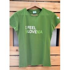 Woman T-shirt I feel Slovenia