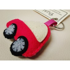 Keychain - Pink car
