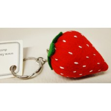 Keychain -  Red Strawberry