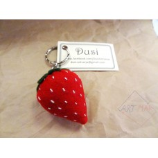 Keychain - Strawberry (S)