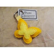Obesek za ključe - metuljček (L)