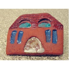 Brooch - House