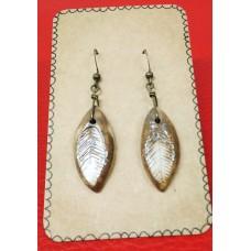 Earrings dangling