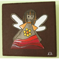Clay relief - small (yellowclay)