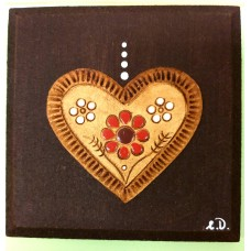 Clay relief - small (brown clay)