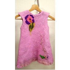 Felted dress for kids