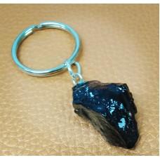 Charcoal key ring
