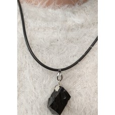 Necklace-black string