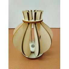 Wodden vase