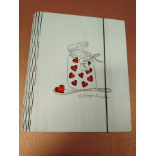 Notebook for writing recipes