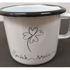Cuckoo Cups - enamel cup