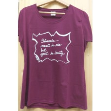 Women's  T-shirt Slovenia - small in size...