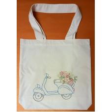 Embroidery bag (Vespa)