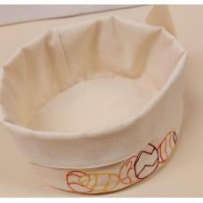 Textile Bread Basket (Easter motif)