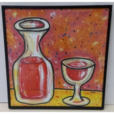 Painting- Red wine