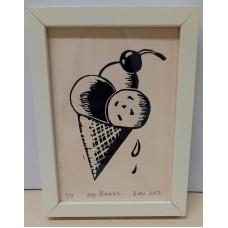 Painting- Ice cream