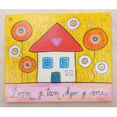Picture-Home is where the heart is.