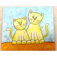 Picture- Cat couple