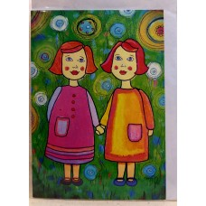 Greeting cards-To the sister