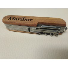 Wooden knife - multi-purpose