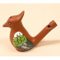 Clay flute - a bird