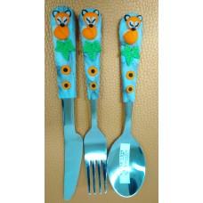 Cutlery Set - Fox