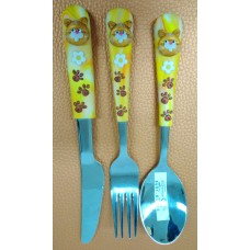 Cutlery Set - Bear