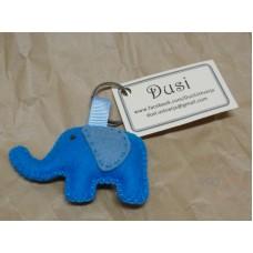 Obesek za ključe - slon (M)