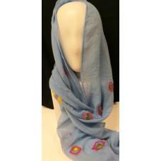 Nuno scarf blue