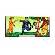 Panjska končnica - mala (Lisica pleše z lovcem)