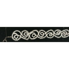 Bracelet- White lace