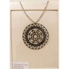 Necklace Medallion-lace