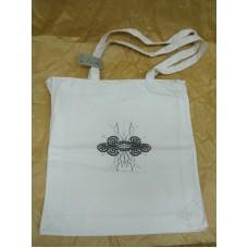 """Tekstilna torba """"Čipka"""" z zadrgo"""