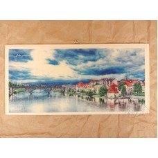 Wooden picture Maribor