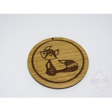 Wooden coaster holder