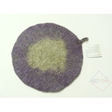 Felted pot trivet
