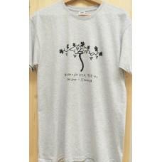 Men`s T-shirt grey-Old vine