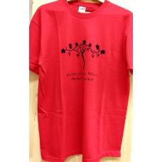 Men`s T-shirt red -Old vine