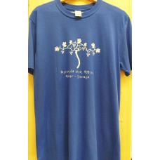 Men`s blue T-shirt