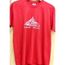 Men`s T-shirt red-Pyramid